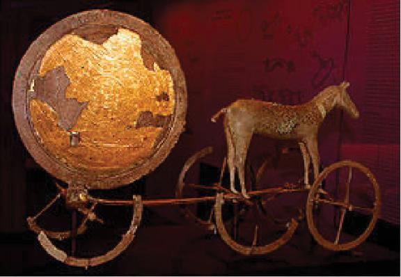 1100BC BRONZE CHARIOT