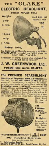 1908 HEADLIGHTSAD