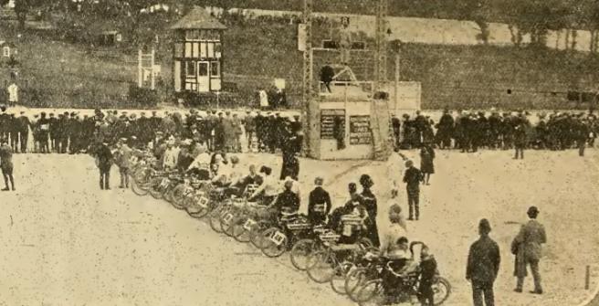 1909 BROOKLANDS START