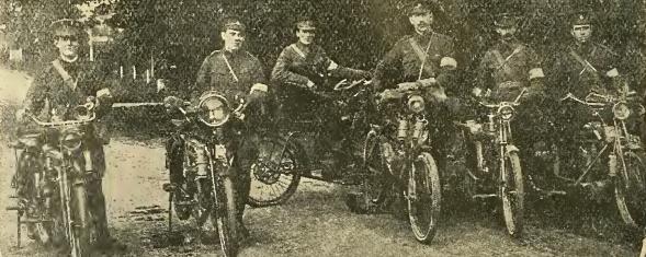 1909 MU WD VOLUNTEERS