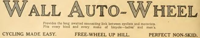 1909 STAN WALLAWHEELAD