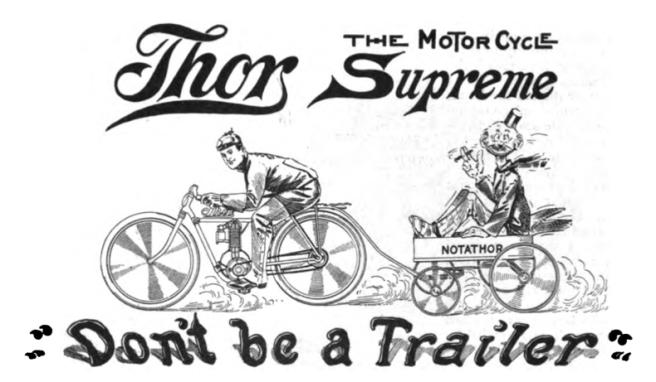 1909 THOR AD