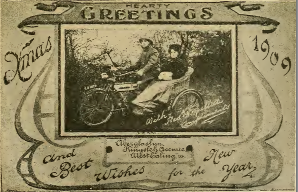 1909 XMASCARD
