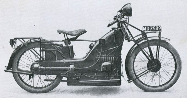A-Z 1922 LOW MOTOR CYCLE