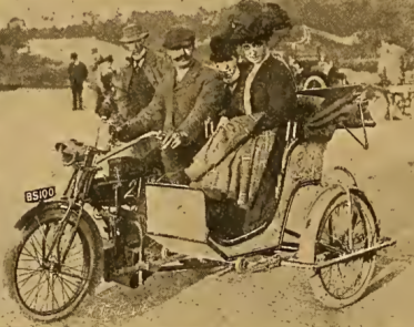 1910 BROOKLANDS SIDECAR