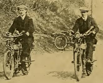 1910 LON-ED 2RIDERS
