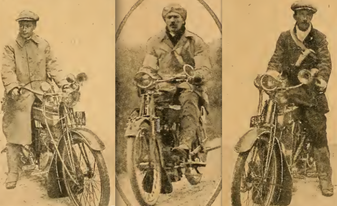 1910 MCC WINTER TRIAL X3