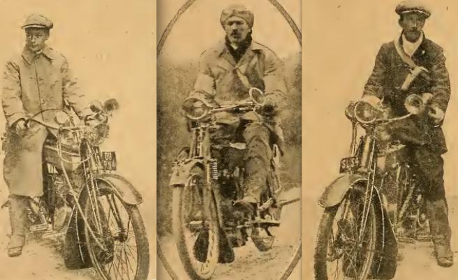 1910 MCC WINTER TRIAL X3