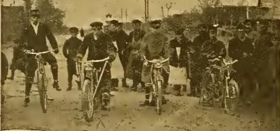 1910 RUSSIAN RACE