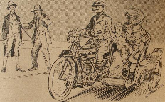 1910 SIDECAR JOKE