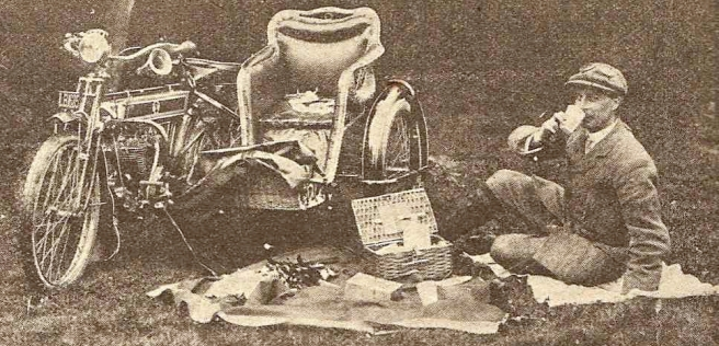 1910 SIDECARPICNIC
