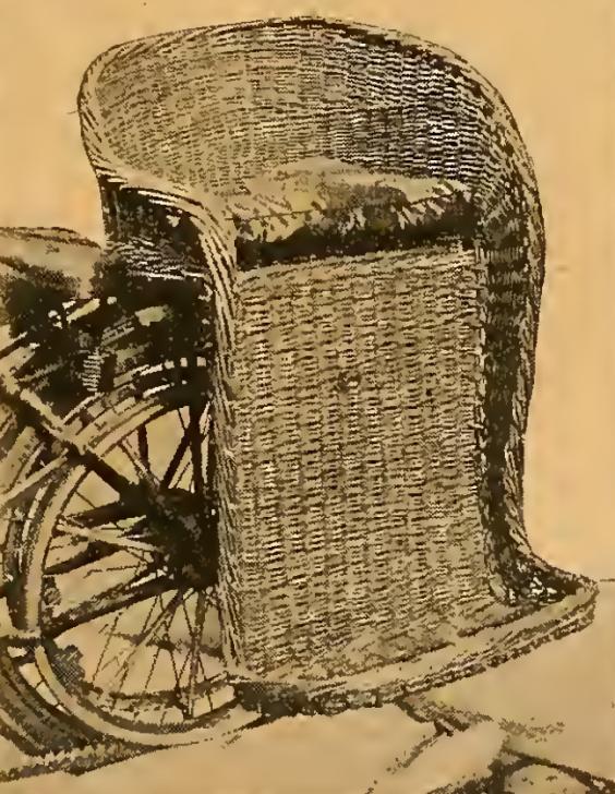 1910 SIDESADDLE PILLION
