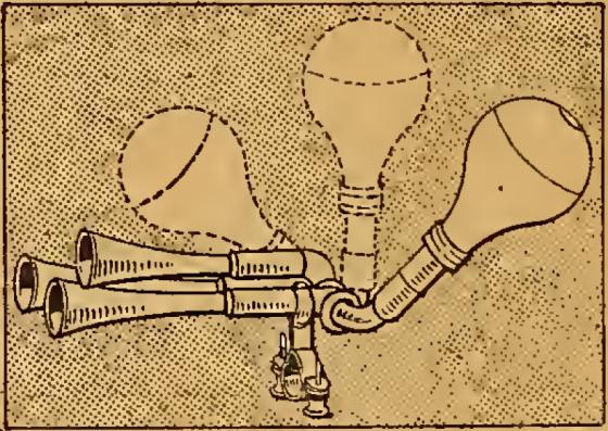 1910 THREEWAY HORN