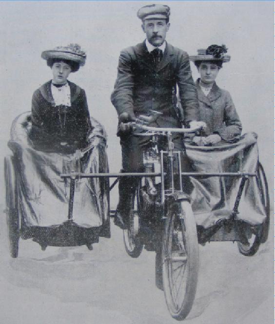 1903 LADIES DOUBLESIDECAR