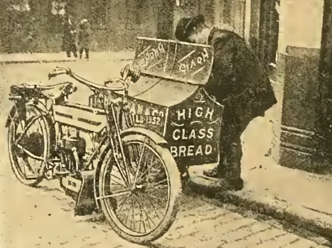 1911 BREAD CARRIER