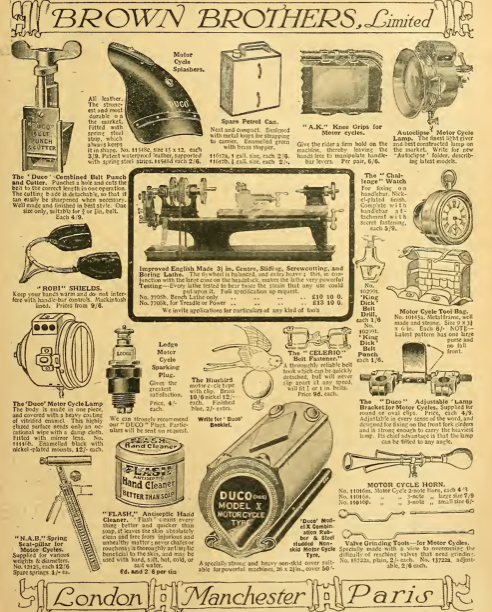 1911 BROWNBROS AD