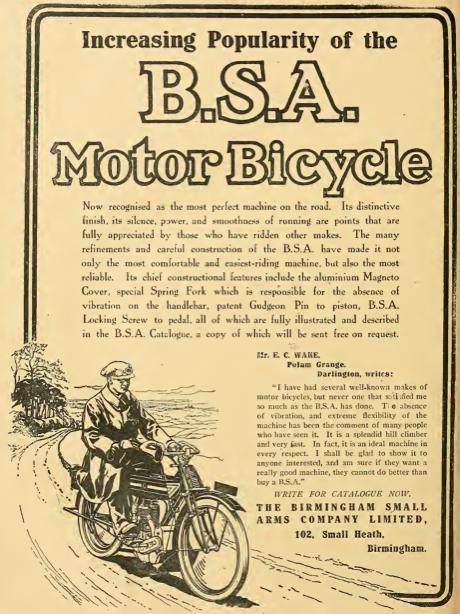 1911 BSA AD