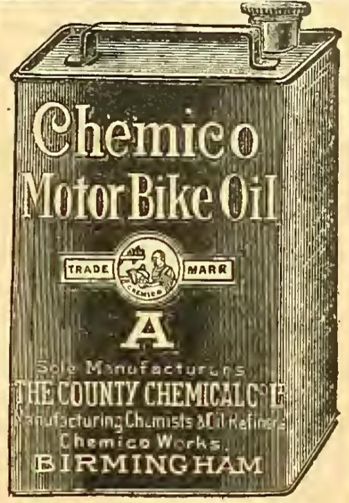 1911 CHEMICO AD MOTOR BIKE