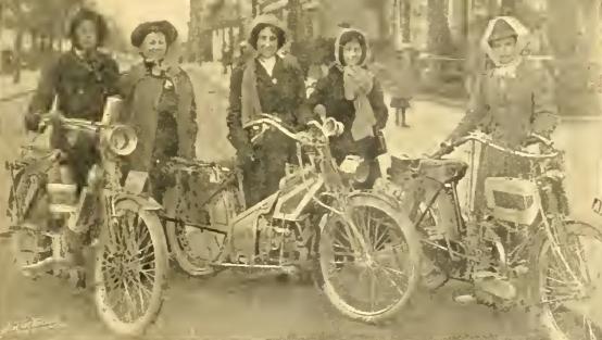 1911 HERTS TRIAL LADIES