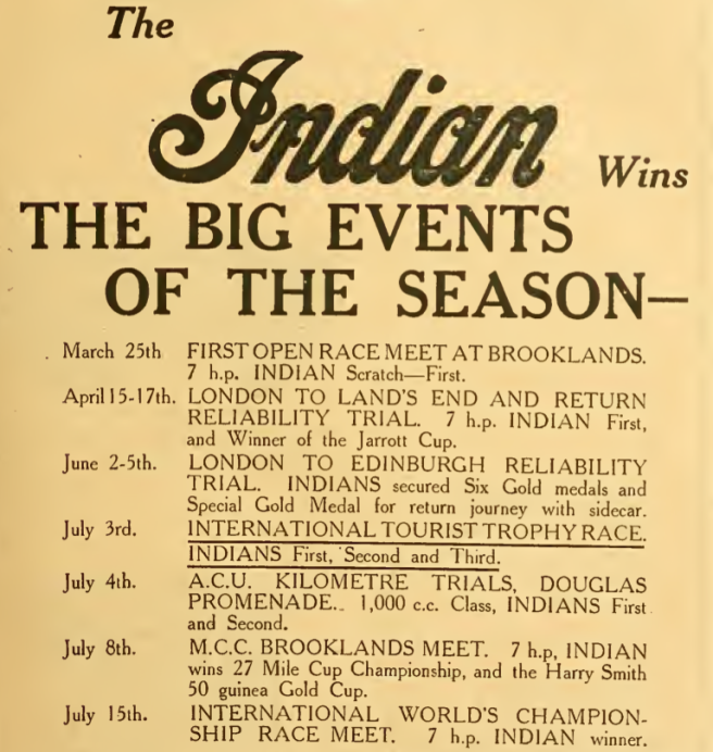 1911 INDIAN AD