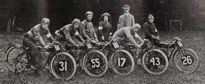 1911 INDIAN TT TEAM