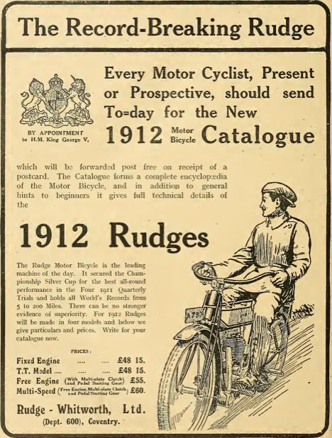 1911 RUDGE AD