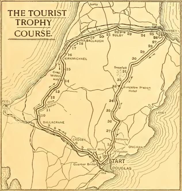 1911 TT NEW COURSE