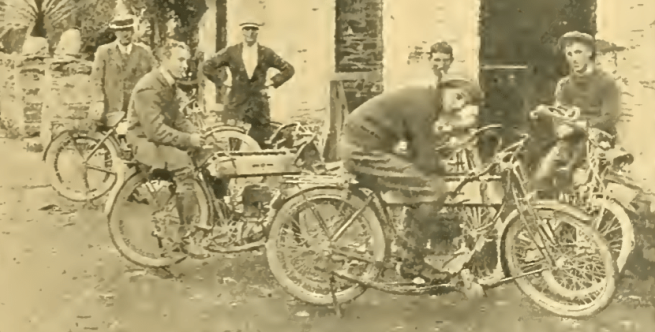 1911 TT RUDGE TEAM
