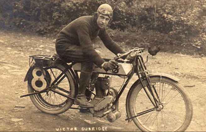 1911 TT VICTOR SURRIDGE RUDGE