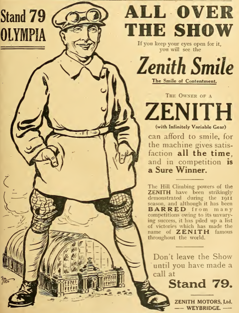 1911 ZENITH AD