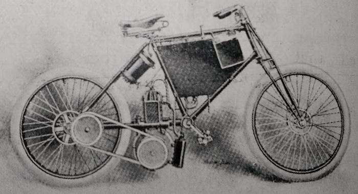 1897 de dion racer