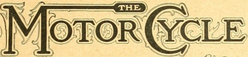 1903 motor cycle logo