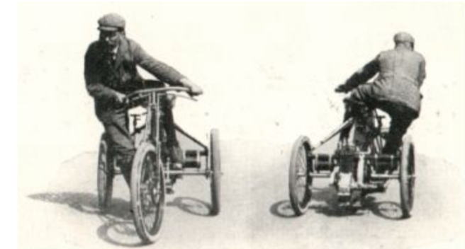 1903 trike handling