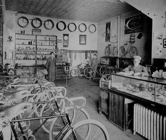 1903 wyman cycle shop