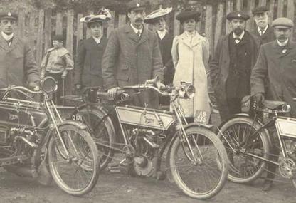 1906 norton twins