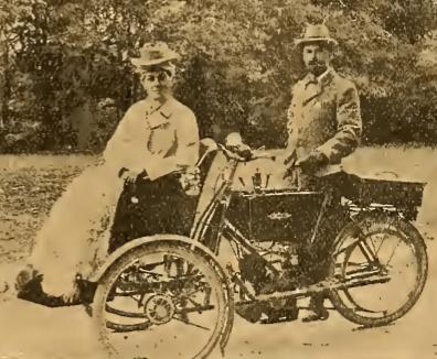 1907 cop trike
