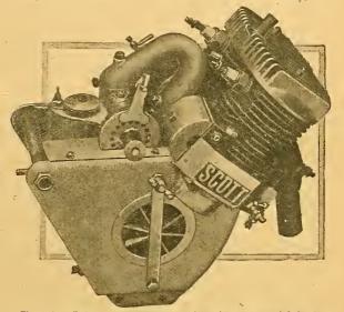 1910 SCOTT ENGINE