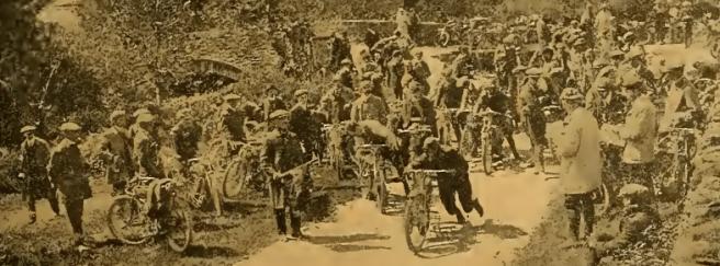 1910 TT BRAKETEST