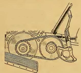 1912 AJS STARTER