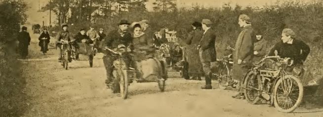 1912 CHESHIRE SCENE