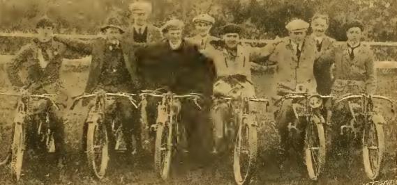 1912 DOUGLAS TT TEAM