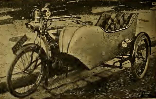 1912 DUKELET SIDECAR