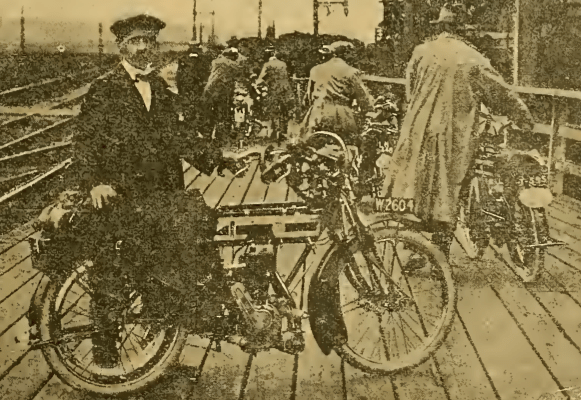 1912 DUTCH OFFLOADING