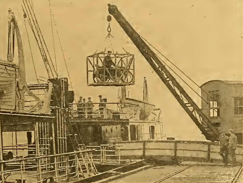 1912 DUTCH ZENITH CRANE