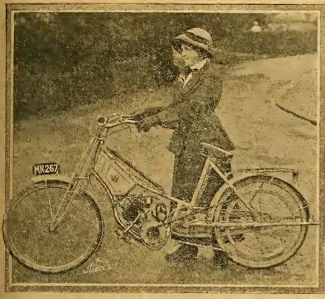 1912 MANX MAID