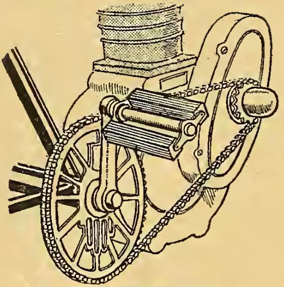 1912 RUDGE STARTER