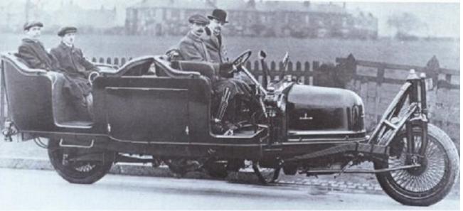 1912 SHILOVSKY GYROCAR