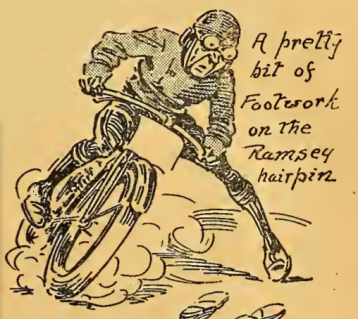 1912 TT FOOTWORK