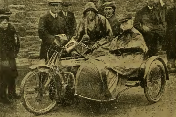 1912 TT JL NORTON+DAD