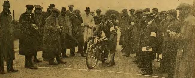 1912 TT PJ EVANS START